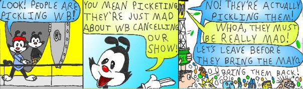 Animaniacs comic strip. Another one coming next month!